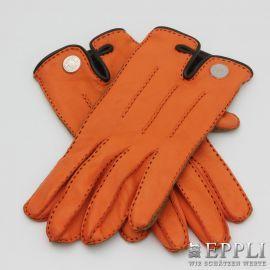 HERMÈS aktuelle Leder-Handschuhe. NEUWERTIGER ERHALT!! Akt. NP. 680,-€.