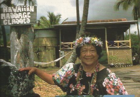 Aunty Margaret's School of Hawaiian Lomi Lomi Massage  1988 - this is where I trained.
