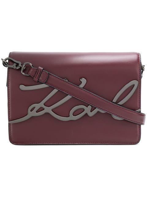 Shop Karl Lagerfeld Ksignature Shoulder Bag Fashion The Bag