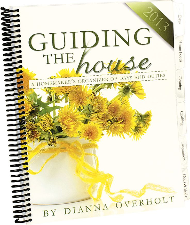 Guiding the House | A Homemaker Organizational Journal ---an interesting idea to perhaps make my own version of.