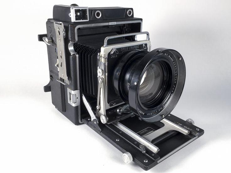 Graflex Speed Graphic Pacemaker + Kodak Aero Ektar 178mm f/2.5 - David Burnett Combo