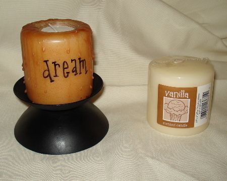 Prim Mart Crafter's Online Community - Primitive Candle with Words