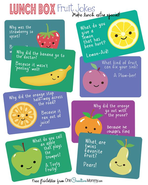 Lunch Box Jokes for Back to School!