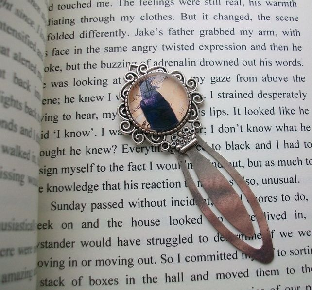 'The Messenger' Raven bookmark - £7.50 - One only - now availanble from my on-line shop, here: https://folksy.com/items/6838556--The-Messenger-Raven-bookmark-Gothic-pagan-