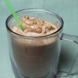 Low-Carb Chocolate Peanut Butter Smoothie Allrecipes.com