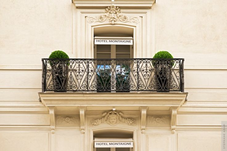 Photo d'architecture - Photographe professionnel du luxe  Hotel Montaigne  © Stéphane Adam  stephane-adam.com/
