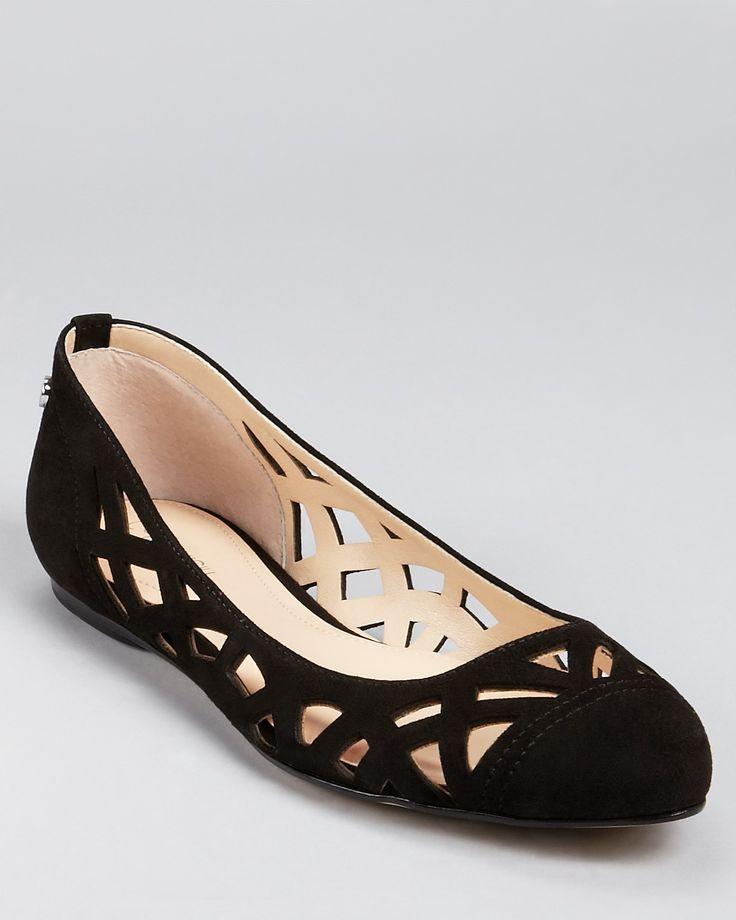 Calvin Klein Flats - Emilia Cutout - Flats - Shoes - Shoes - Bloomingdale's