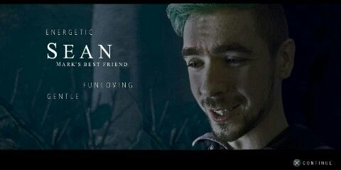 Jack (sean) and until dawn the best combo ever 💞