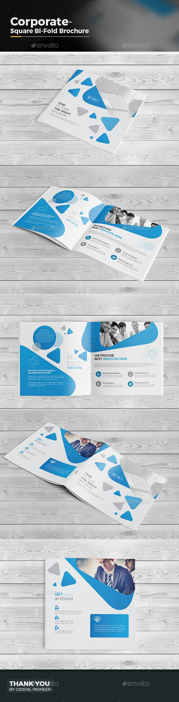 bi fold brochure template illustrator - 1000 images about brochure templates on pinterest