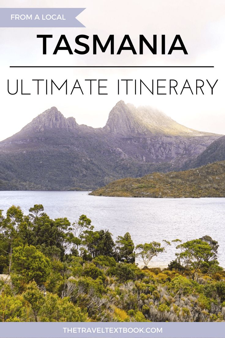 Tasmania Itinerary Pinterest