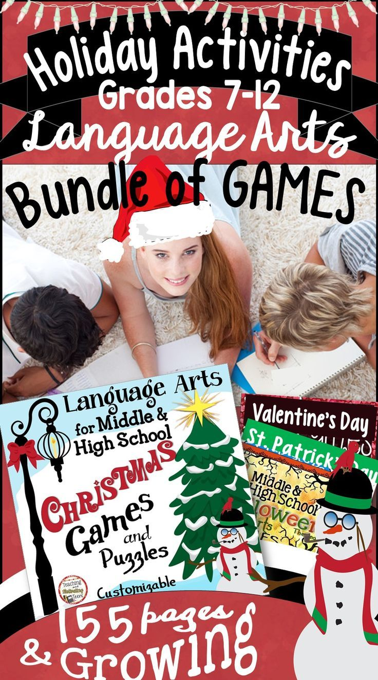 With this growing MEGA BUNDLE, you'll have an engaging set of standards-based activities ready for major holidays. Your students will be having fun while practicing important skills for Language Arts.