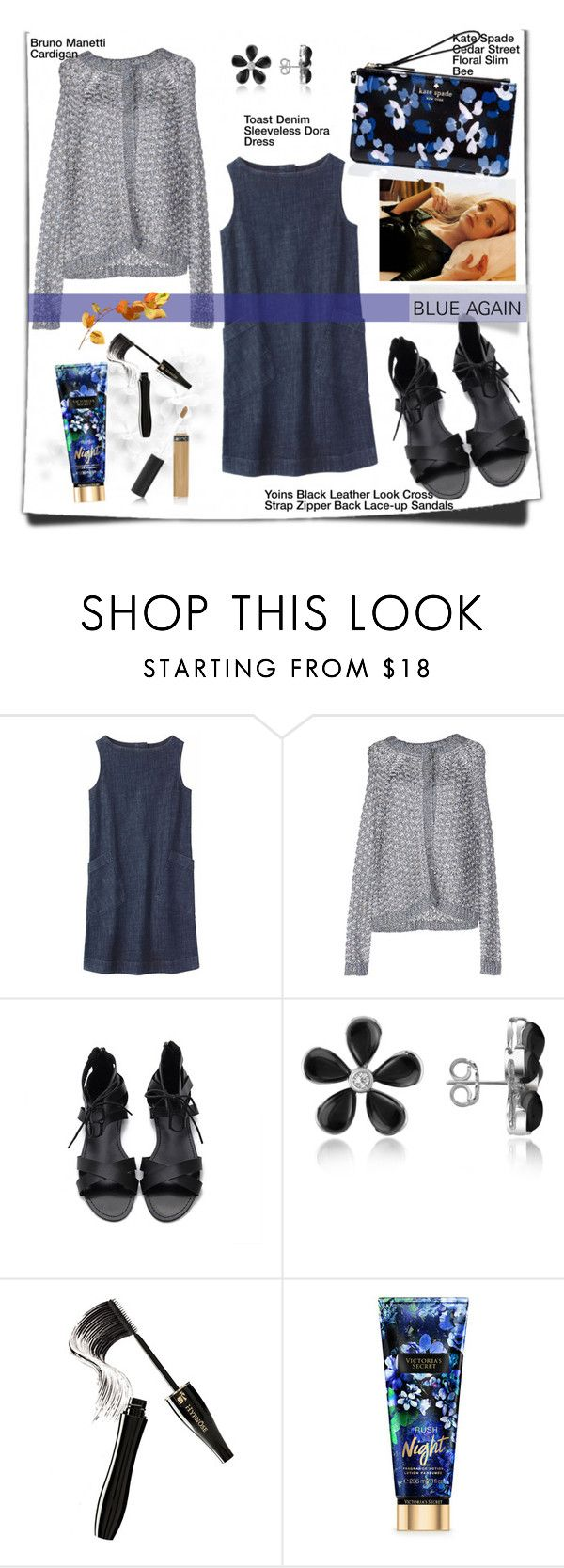 """2016-09-24"" by wilady ❤ liked on Polyvore featuring Toast, Bruno Manetti, Del Gatto, Lancôme and Kate Spade"