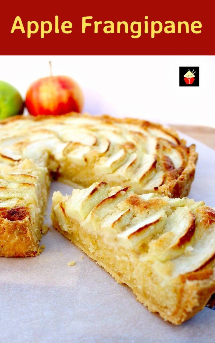 Apple Frangipane via @lovefoodies