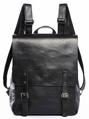 Kenox Vintage PU- Leather Laptop Backpack
