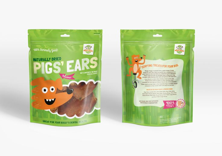 Moggy Doggy and Friends pet food Packaging Design by Onfire Design for McPhersons Homewares