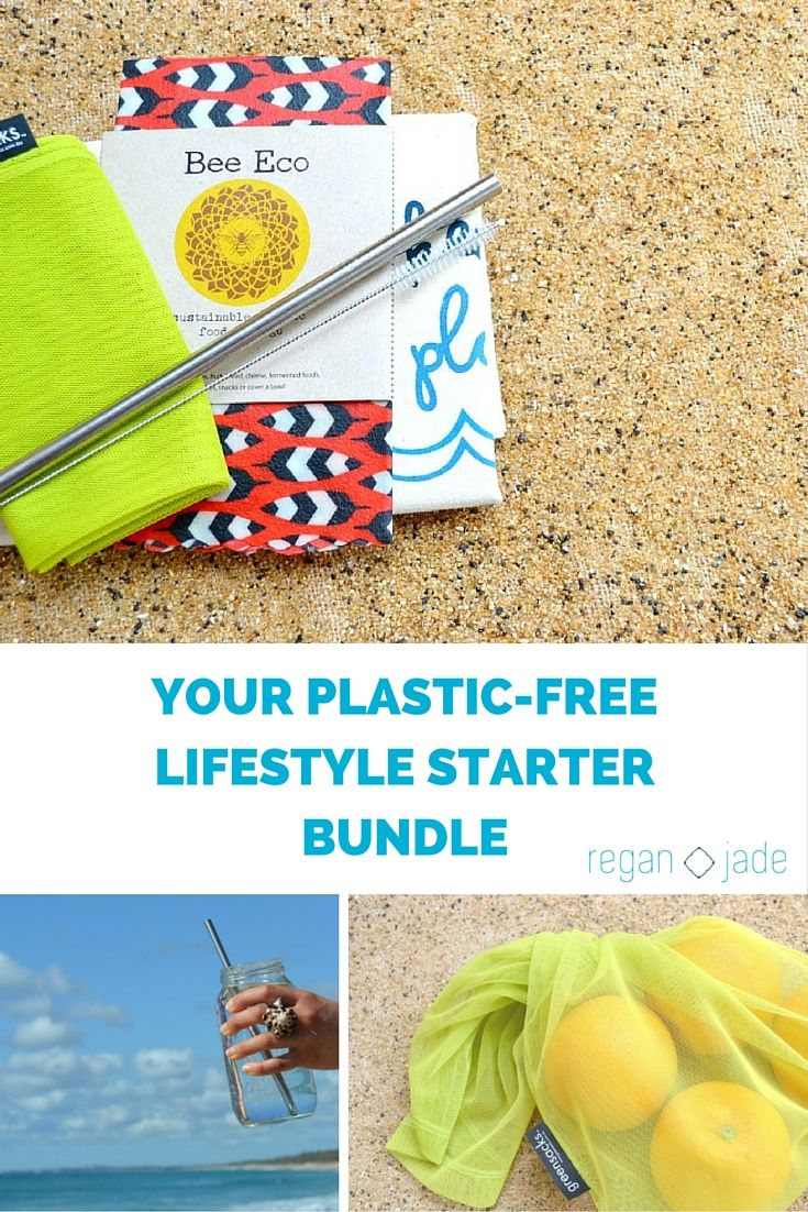 YOUR PLASTIC-FREE LIFESTYLE STARTER BUNDLE - GET YOURS NOW