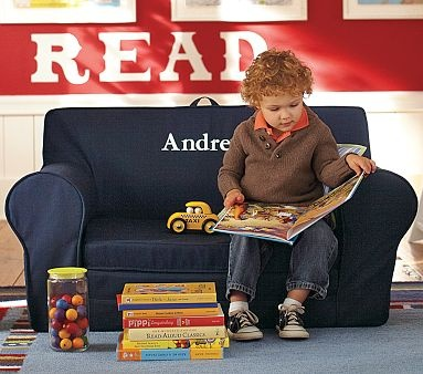 Anywhere lounger chair for boys' room