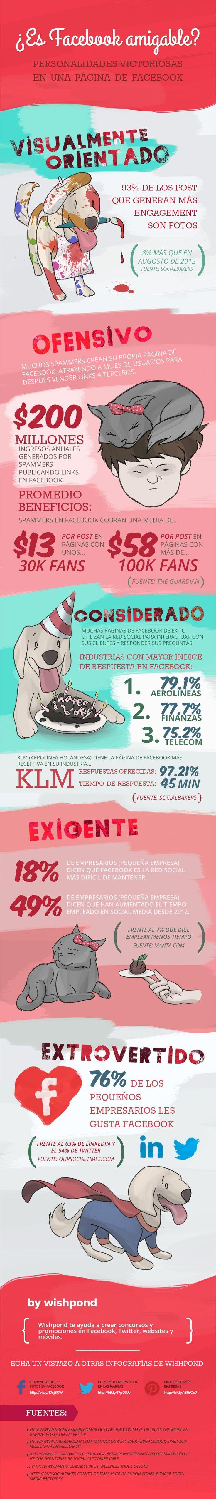 Curiosidades de Facebook #infografia