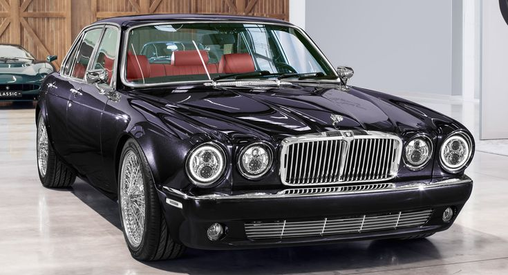 Jaguar Classic's XJ6 Restomod Is Rock & Roll On Wire Wheels #news #celebrities