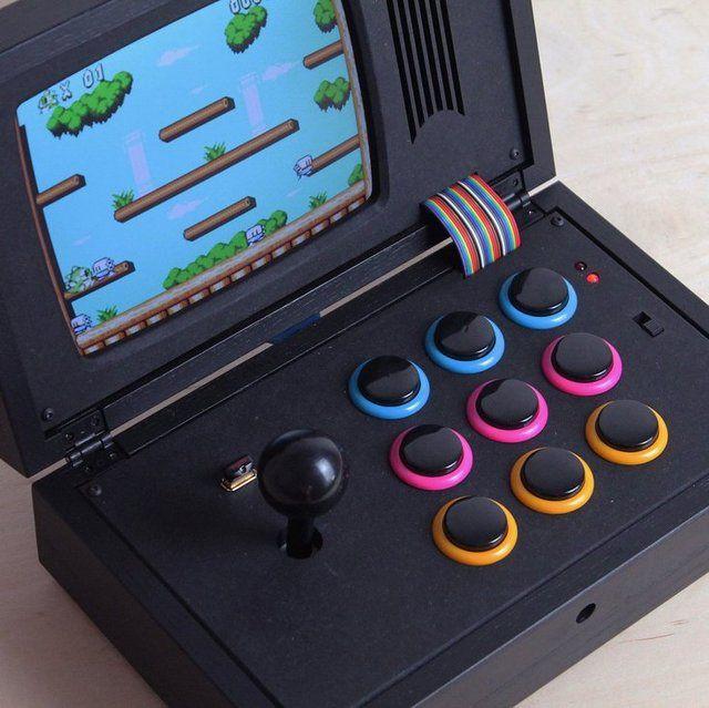 R-Kaid-R Black Rainbow Portable Game Console #Console, #Game, #Portable