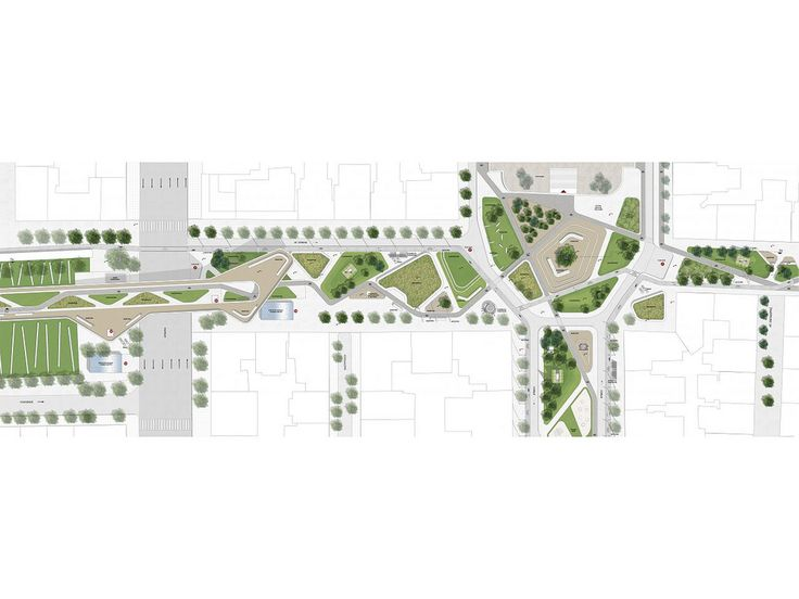 """Regeneration of the Agias Sofias - Acheiropoeitos axis of Thessaloniki / competition OFFICETWENTYFIVEARCHITECTS in collaboration with VANDOROS ALEXIOS, participated at this years biggest Greek Architectural Competition of Ideas for the project """"Regeneration – Promotion of the Agias Sofias - Acheiropoeitos axis, of the Municipality of Thessaloniki"""". -Architectural study"""
