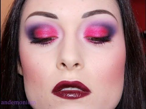 Make Up Tutorial: Gothic Bright Fuchsia