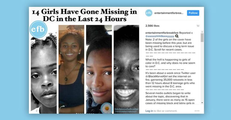 Although there are still a number of missing teenagers in the D.C. area, local police refuted claims of a mass disappearance of girls there.