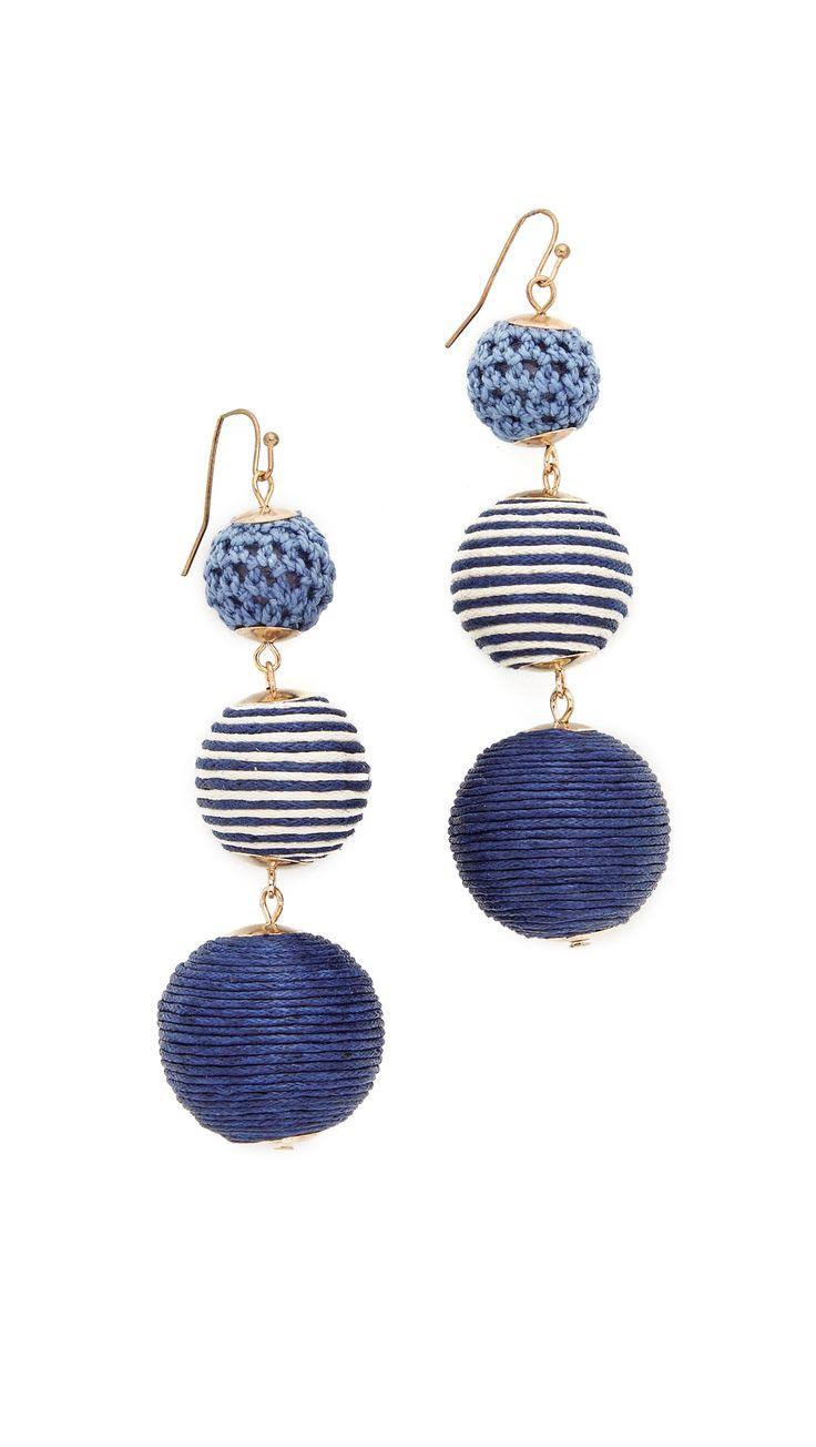 Matilda Striped Earrings
