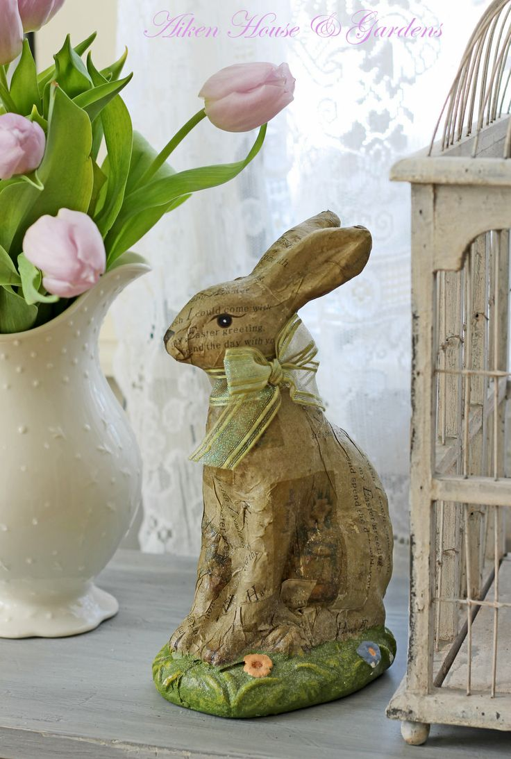 136 best Chic Shabby Easter images on Pinterest | DIY, Bunnies and ...