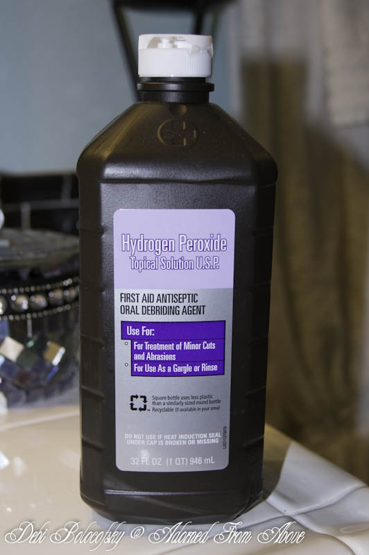 59 best hydrogen peroxide uses images on pinterest cleaning tips cleaning hacks and households. Black Bedroom Furniture Sets. Home Design Ideas