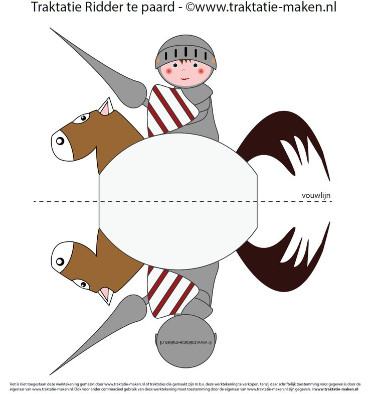 http://www.traktatie-maken.nl/traktatie/Ridder-te-paard