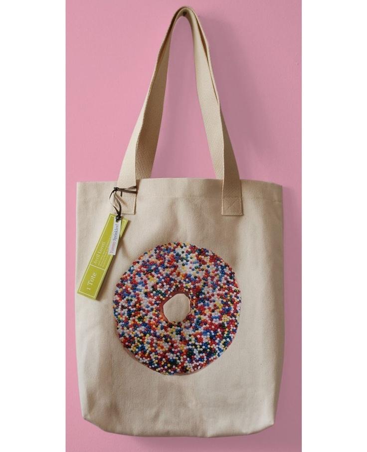 Sprinkle Donut Tote