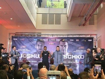 Build up to Joshua v Klitschko fight