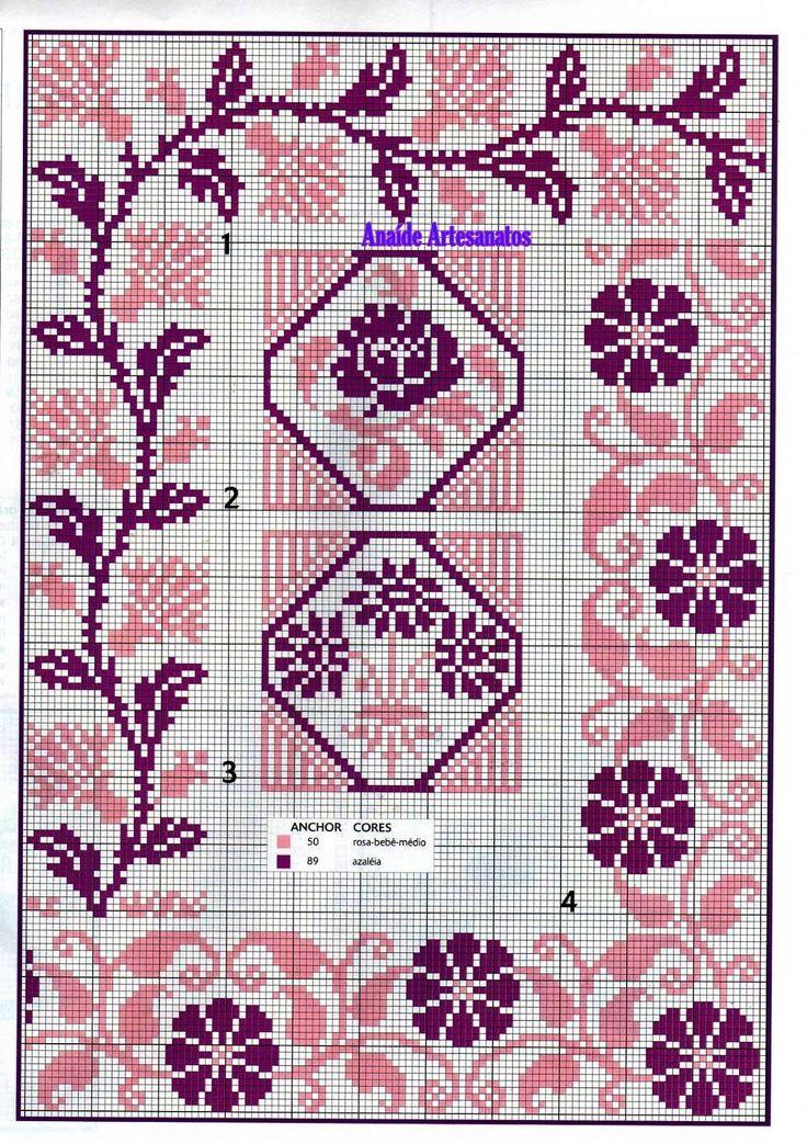 Anaide Вышивка крестом: Великолепная графика точечная крестообразная запрещено…