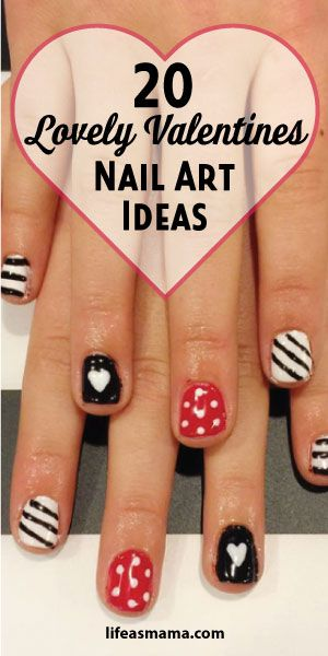 20 Lovely Valentines Nail Art Ideas