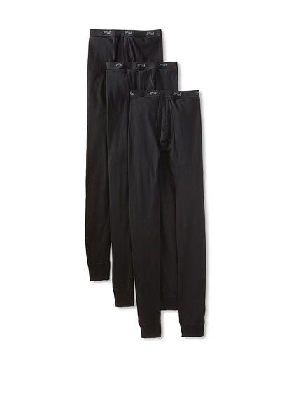 2(x)ist Men's Long Underwear -3 Pack,