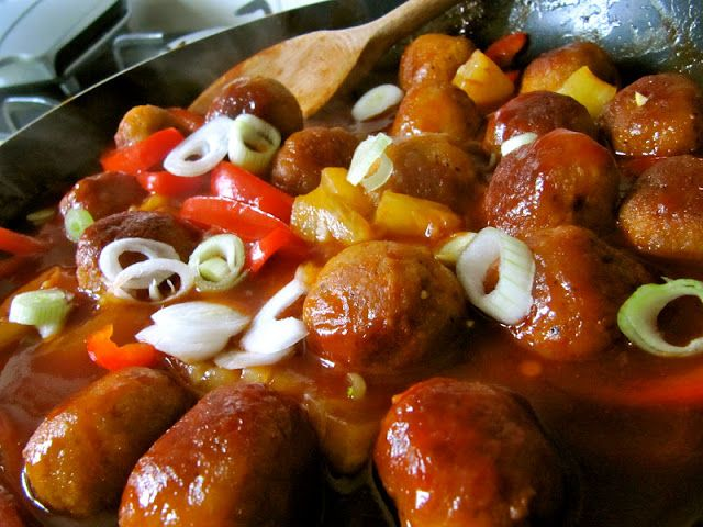 - Sweet and Sour Pork Balls - Lorraine Pascale recipe