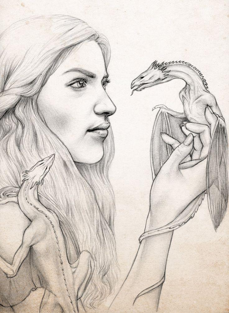 GoT - Khaleesi by Ingvild-S.deviantart.com on @DeviantArt