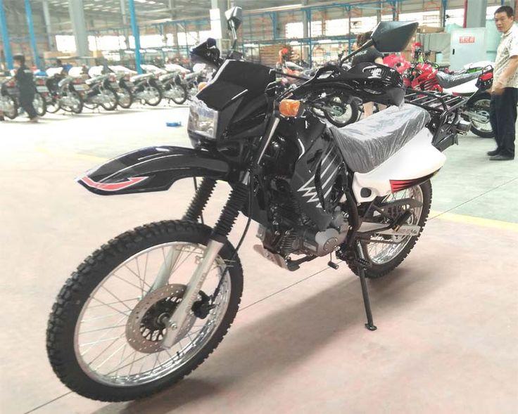 Dirt Bike 200cc Single Cylinder 4 Stroke - Air Cooling - Transmission Manual Clutch 5 Gears - Kick/Electric Start