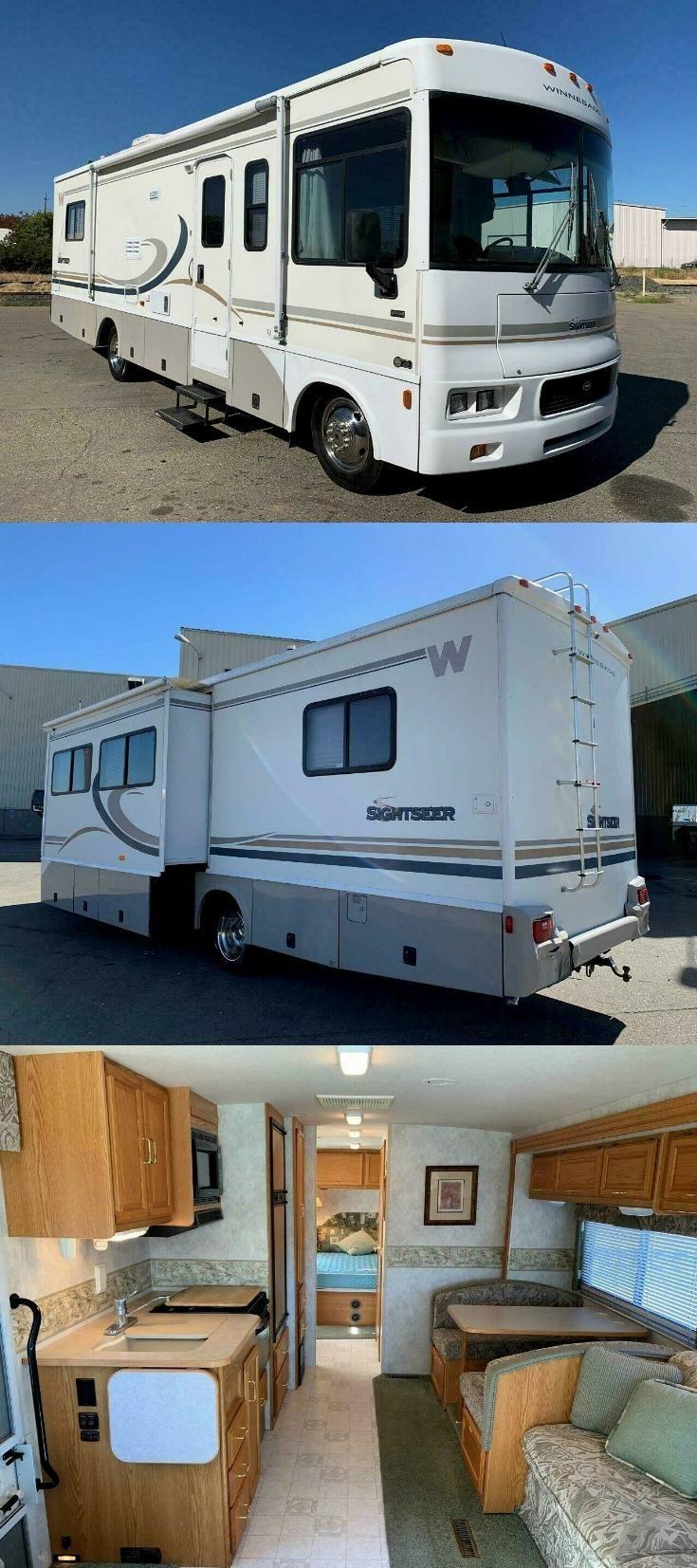 Clean 2004 Winnebago Sightseer 30b Camper Campers For Sale Winnebago Camper
