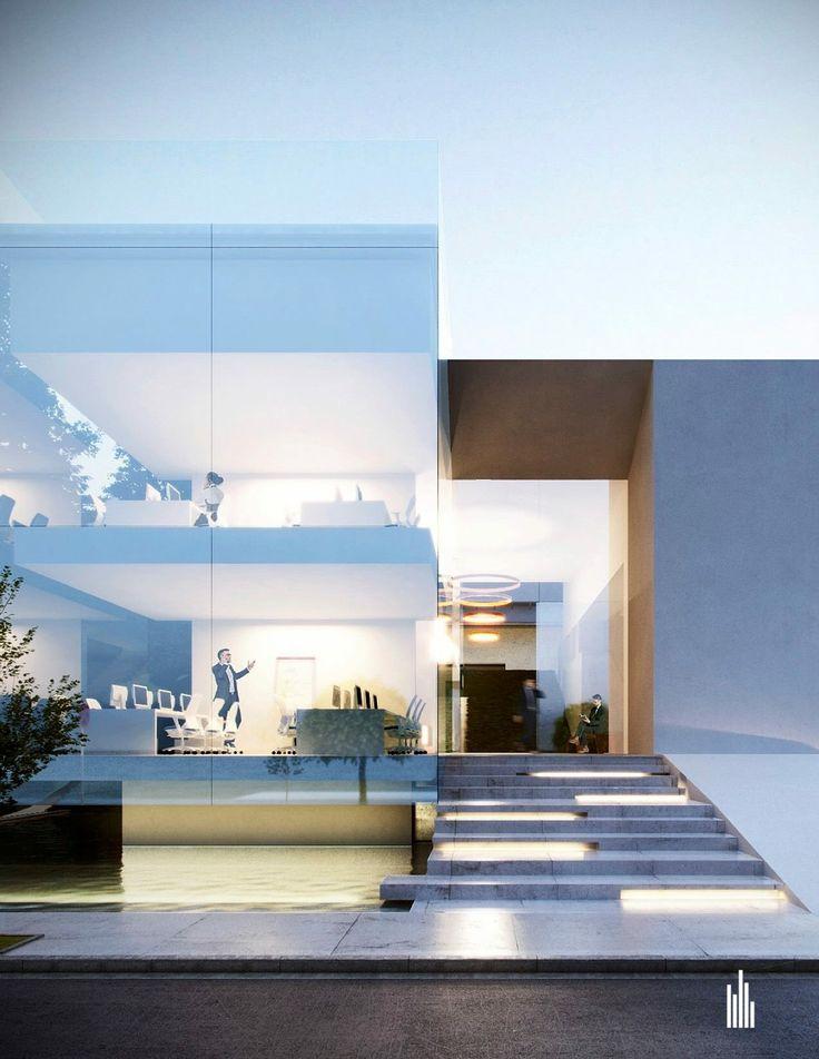 #facade #project #architect #office #eviangate #creato #modern #oficinas #contemporaneo
