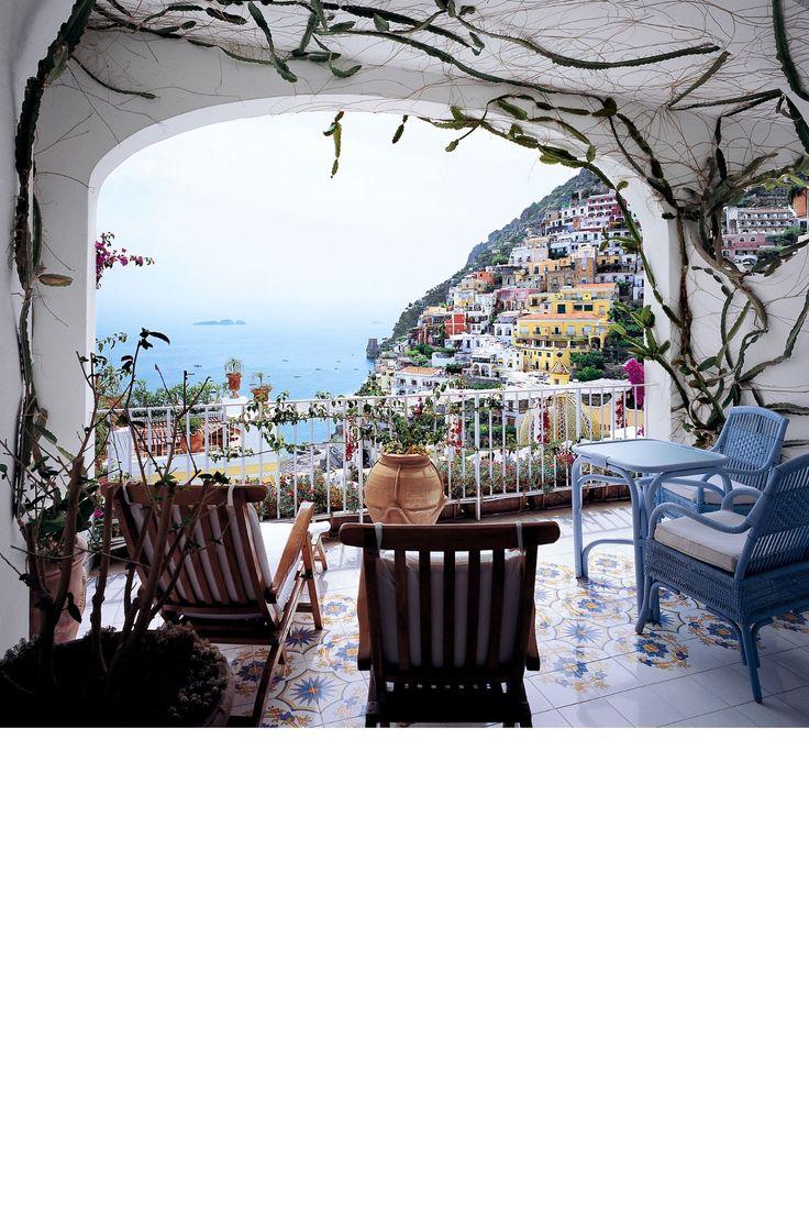 Le Sirenuse, Positano, Italy - HarpersBAZAAR.com