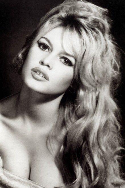Brigitte Bardot. Portrait façon Harcourt
