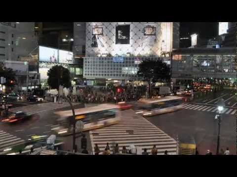 Shibuya Crossing Time-Lapse Video