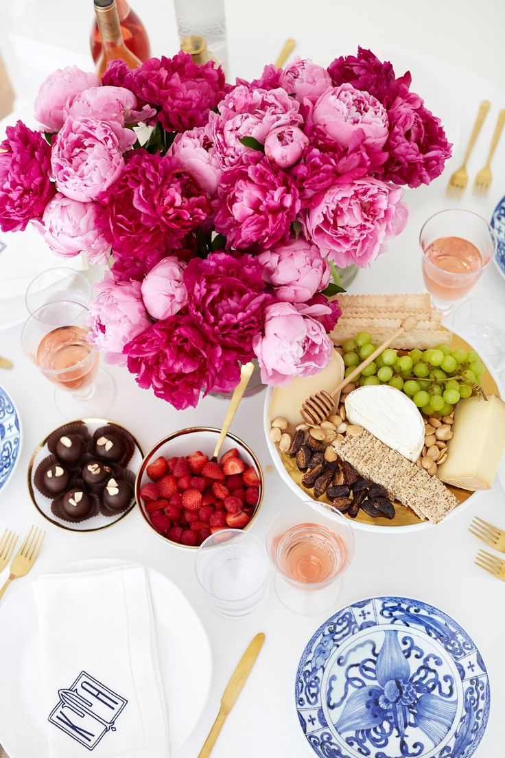 A Summer Tablescape.