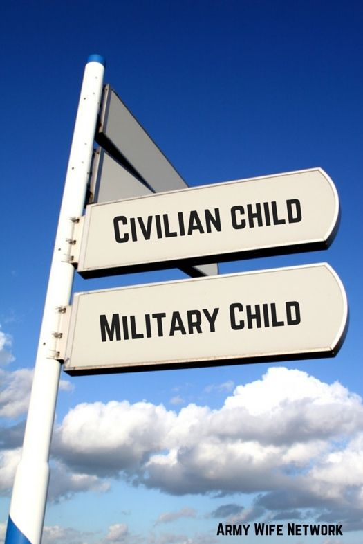 A list of some comparisons between military children and their civilian counterparts, making them some unique and courageous souls.