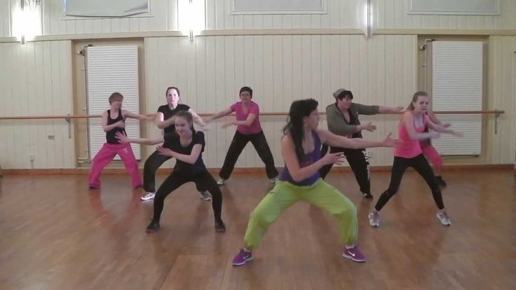 Zumba Class for Beginners 1. The Latina in me loves that the first song is Ricky Martin.