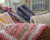 Make Rag Rugs From All Your Quilters SCRAPS - EASY Instructions with Signature Tool Handmade Rug