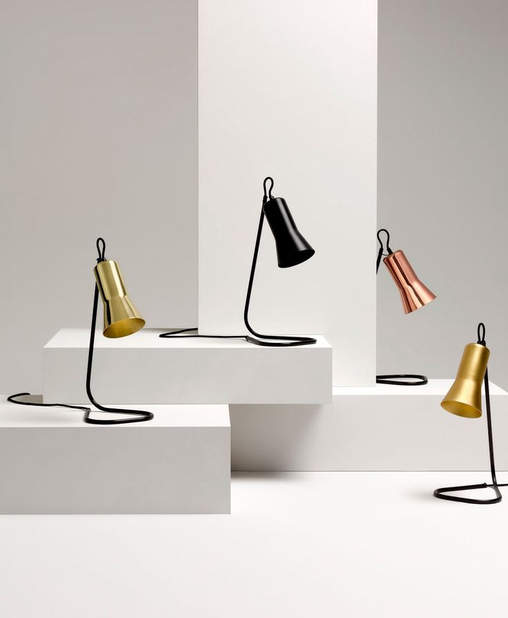 Silhouette Table Lamp by Ross Gardam. Available from Stylecraft.com.au