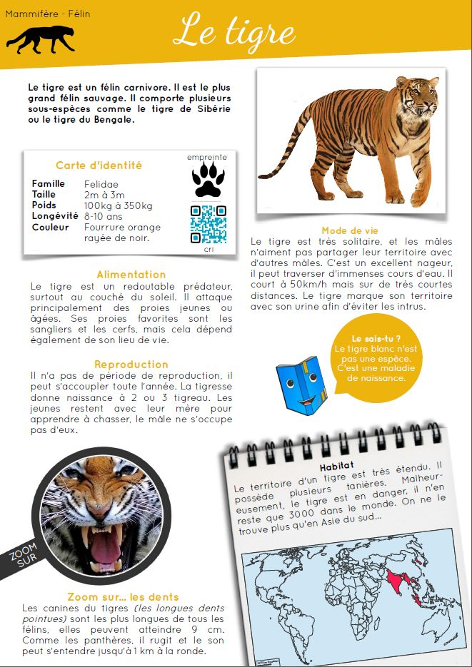 [Rallye-lecture.fr] Documentaires animaliers en ligne